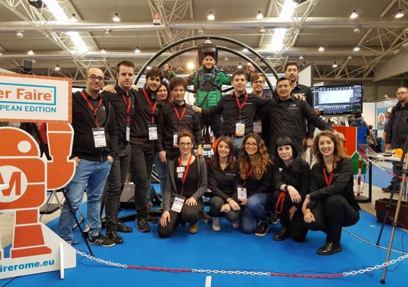 Vitruvian Virtual Reality, l'innovazione nata a Padova, vola al Technology Hub di Milano ed all'Sps di Parma