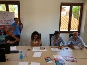 conferenza stampa Sant'Antioco