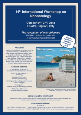 14th International Workshop on Neonatology • October 24th-27th