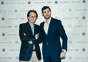 Stefano Vendramini e Joshua Priore