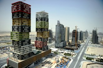 Lusail City Skyline.Pic: Abdul Basit