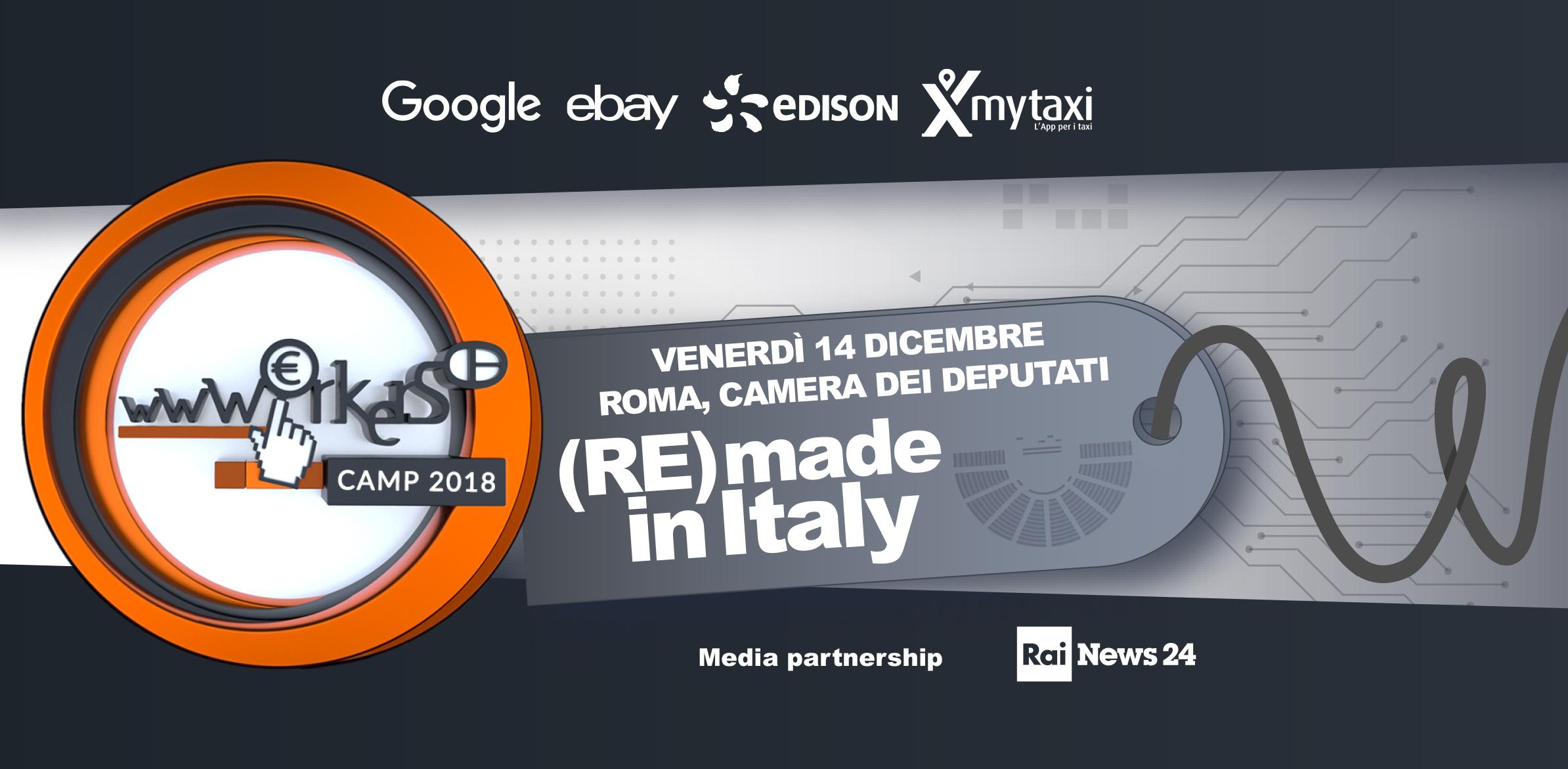 (Re)made in Italy : alla camera dei deputati le ricette dei wwworkers