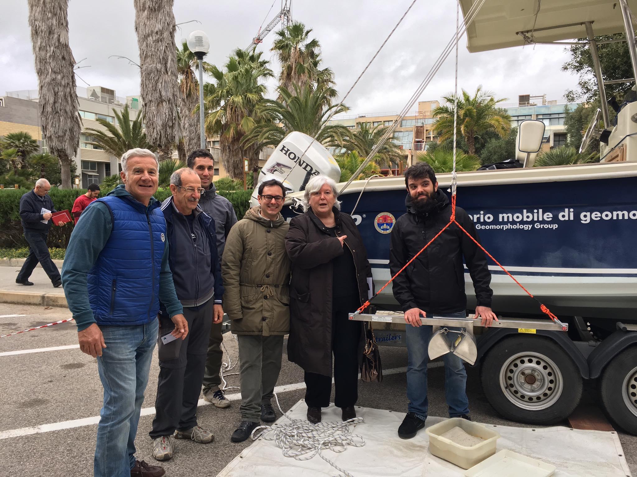 Ambiente, i ricercatori dell'Università di Cagliari studiano l'Arcipelago di La Maddalena.