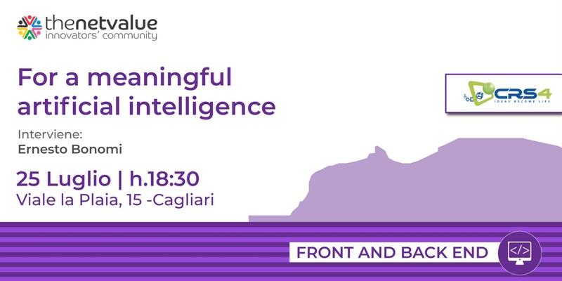 Intelligenza artificiale e gli algoritmi numerici. Il quarto seminario del CRS4 per imprenditori, a Cagliari
