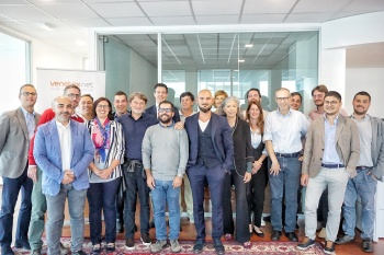 Foto rappresentanza Sardex e staff Venetex