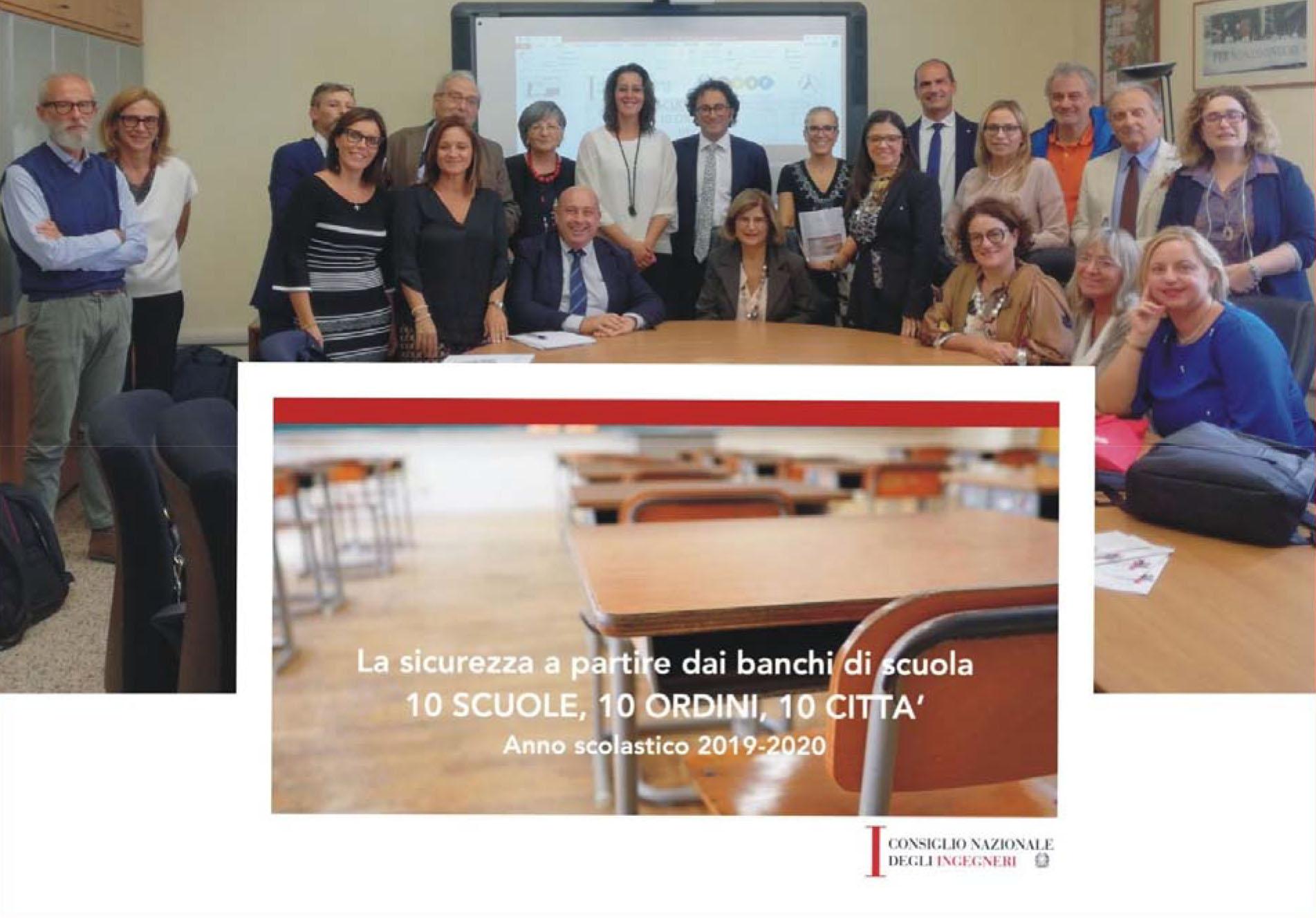 Ingegneri nelle scuole per diffondere la Cultura della Sicurezza: Cagliari tra le 10 città pilota del progetto di MIUR e CNI